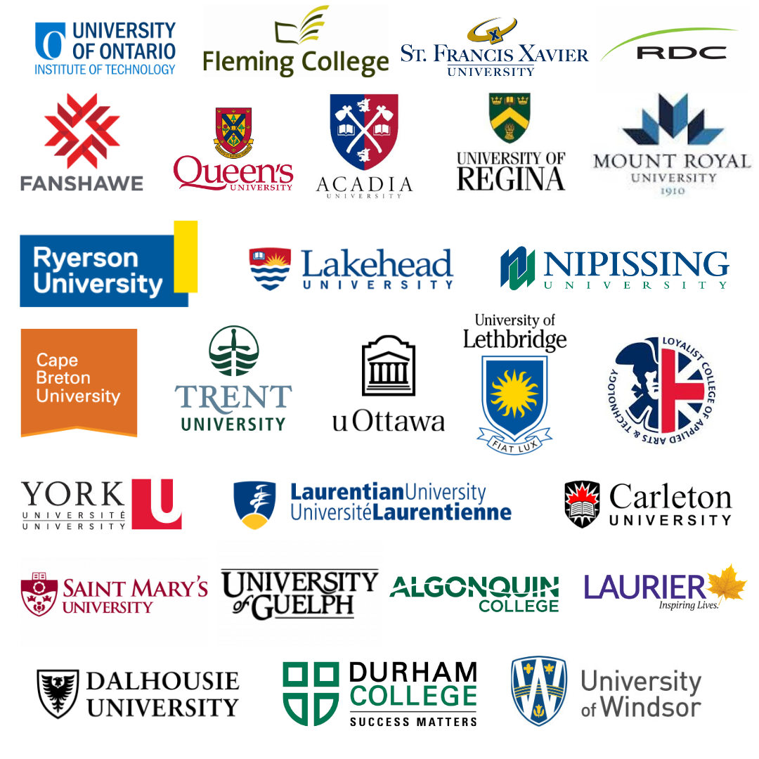 Cam's Kids Partnered with 27 Colleges and Universities Across Canada for the 2019 Orientation Week