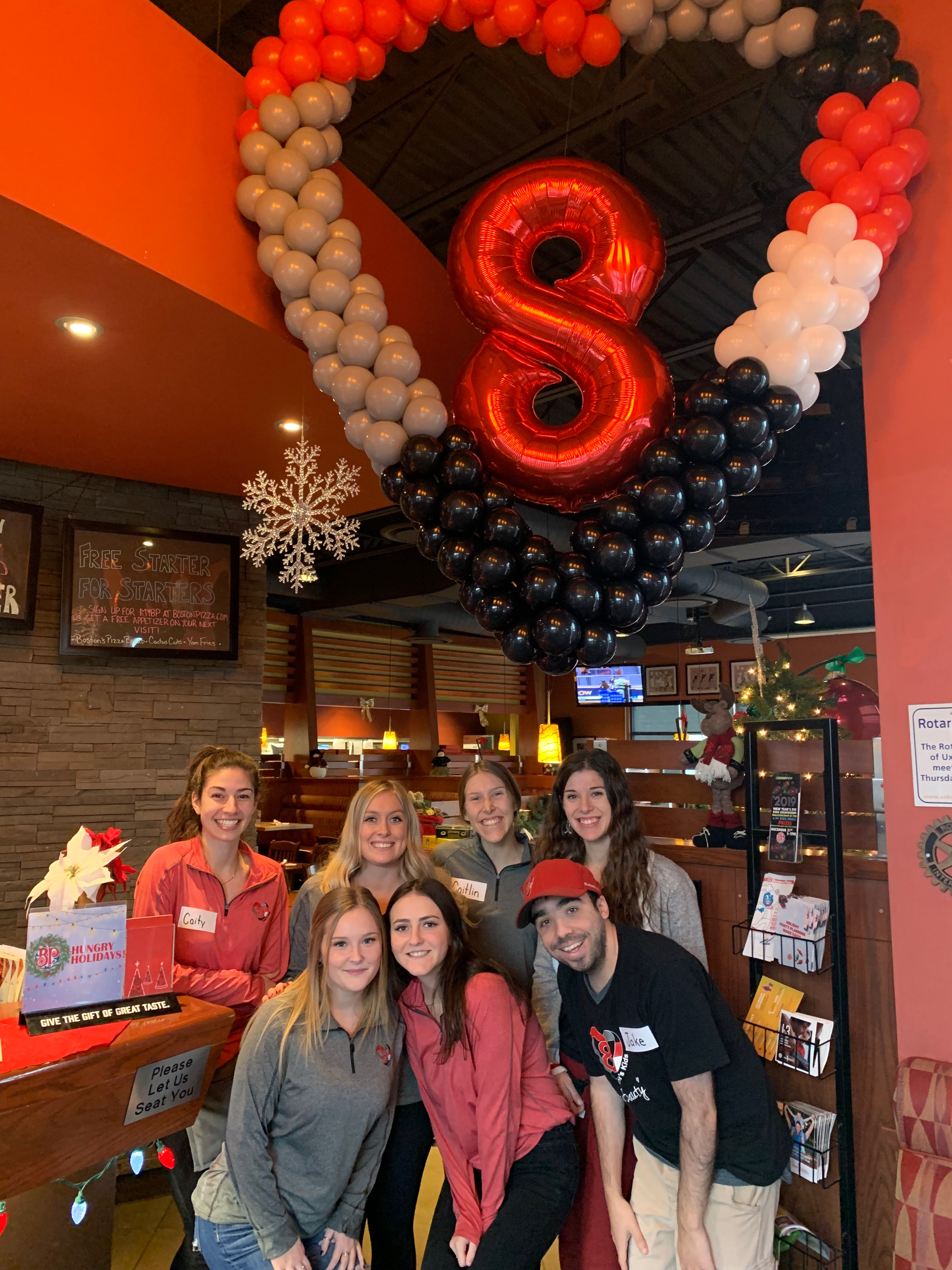 Boston Pizza Celebrity Server A Huge Success