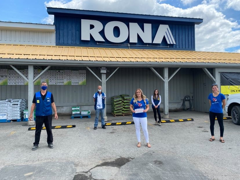 Rona and Lowe's Canada Continuing to Support Cam's Kids
