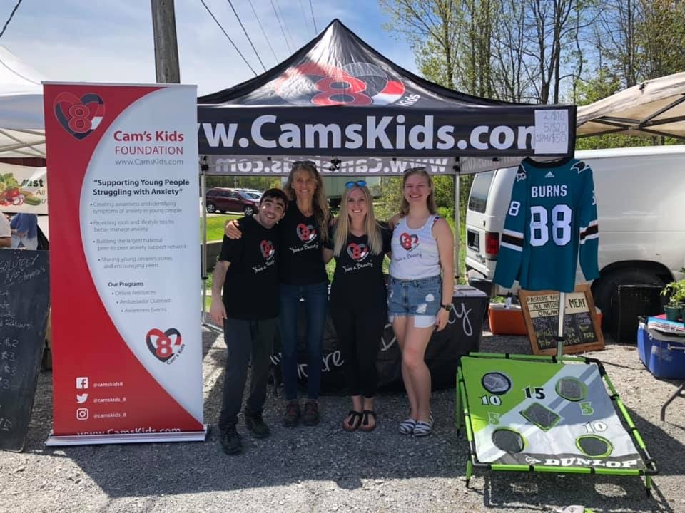 Cam's Kids Granted Community Booth at Uxbridge Farmers' Market