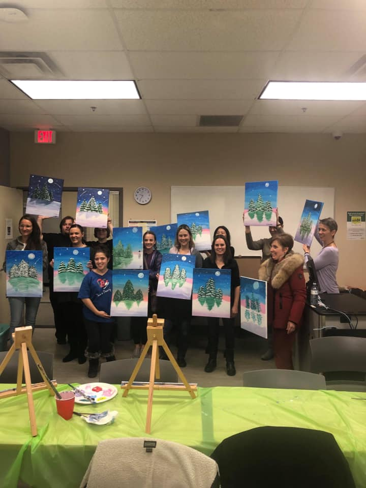 Paint Night for Cam's Kids