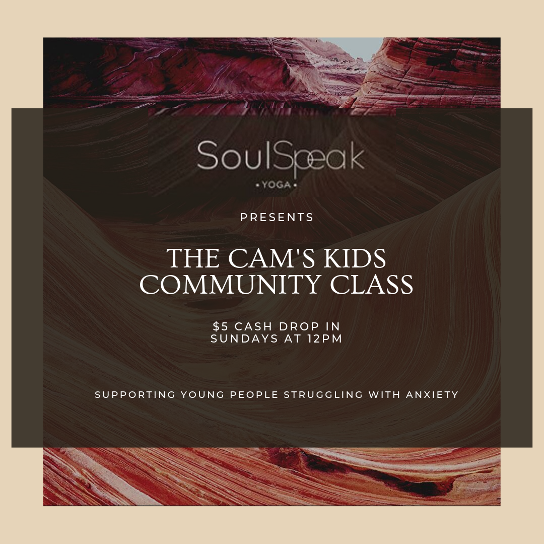 SoulSpeak Yoga Community Class in Support of Cam